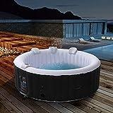 Produkt: Arebos aufblasbarer Whirlpool In-Outdoor NEU - 6 Personen - Rund – 1000 Liter - Spa Pool - Massage, Heizung, Wellness (Preisvergleich)