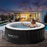 Produkt: CosySpa aufblasbarer Whirlpool - Seifenblase Jacuzzi für den Außenbereich - 2-6 Personen Kapazität (Whirpool nur, 4 Personen) (Preisvergleich)