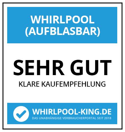 Testsiegel / Testergebnis (Sehr Gut) / Zertifikat von whirlpool-king.de