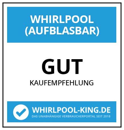 Testsiegel / Testergebnis (Gut) / Zertifikat von whirlpool-king.de